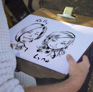 Caricature papier