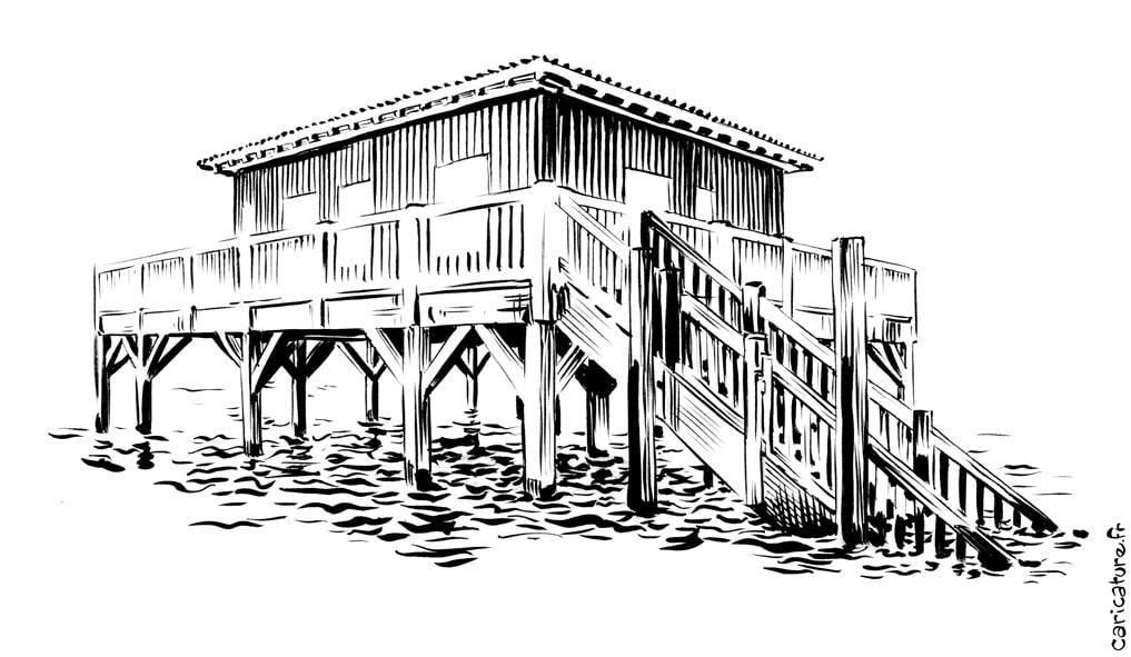 architecture Arcachon