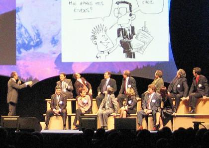 caricatures convention