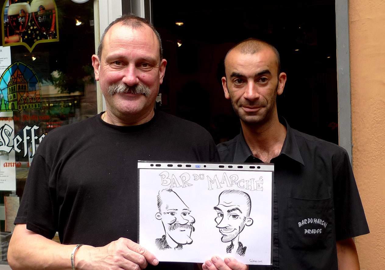 Caricatures serveurs