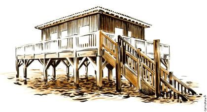 Cabane Tchanquées