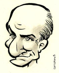 Tuto Caricature: Louis de Funes
