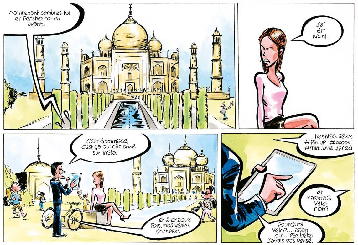 vignette tirée de la bd Start Up!