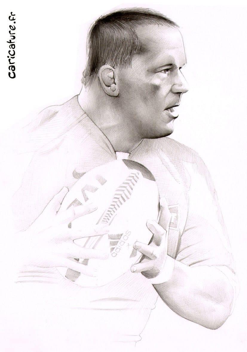 Portraits de joueurs de Rugby de l'équipe de France