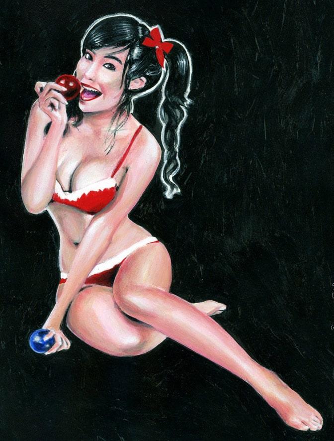 Peinture acrylique d'Elly Tran