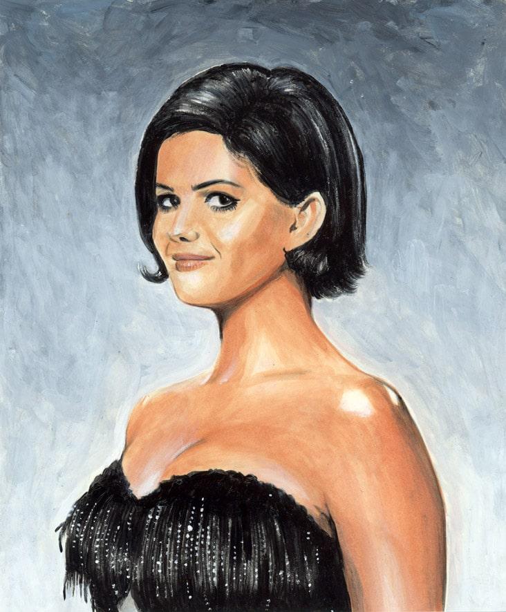 Portrait de Claudia Cardinale